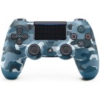 Sony Dualshock 4 V2 Blue Camouflage