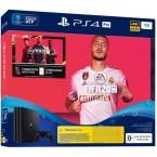 Sony PlayStation 4 Pro Black + Fifa 20