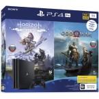 Sony PlayStation 4 Pro Black + Horizon Zero Dawn + God Of War
